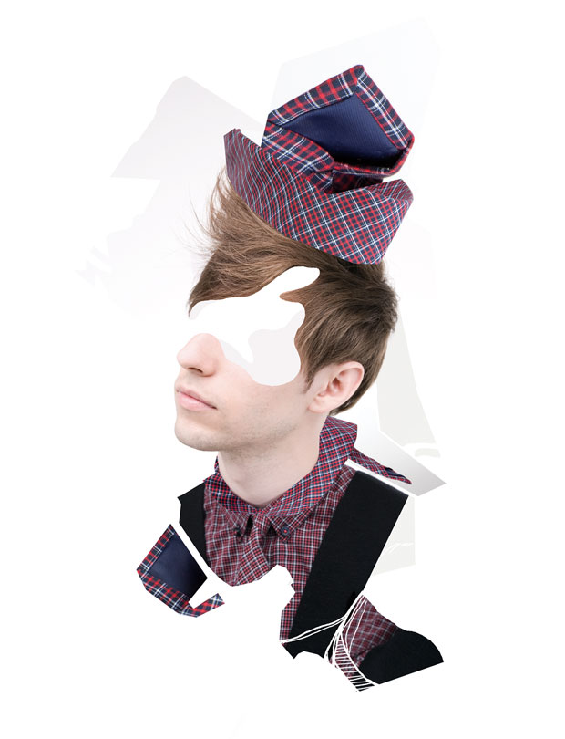 Photography; Photo; Editorial; Ben Sherman; Illustration; Painting; Man; Guy; Man; Fashion; Fashion Editorial; Shirt; Tie
